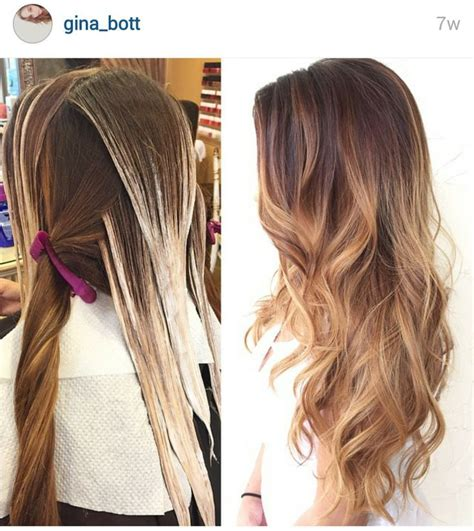 balayage hair color technique best 25 balayage technique ideas on what is