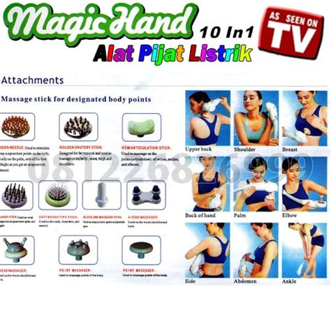 Jual Alat Pijat Listrik Malang magic alat pijat listrik 10in1 081226826999 tool