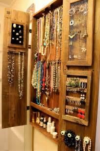Jewelry Storage Cabinet Organic Wall Jewelry Organizer