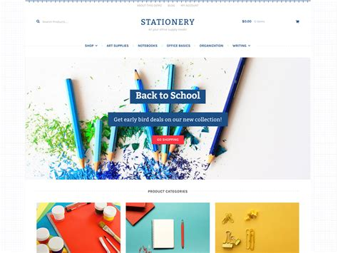 Built In Desk Stationery Woocommerce
