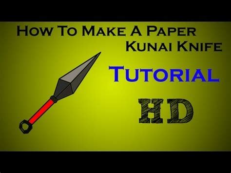 How To Make A Paper Spear - scorpion spear how to make do everything