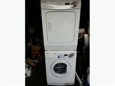 Stackable Washer Dryer For Apartment Apartment Size Stackable Washer Dryer Central Nanaimo Nanaimo