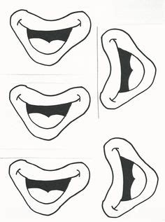 printable mouth templates printable eyes nose mouth templates places to visit