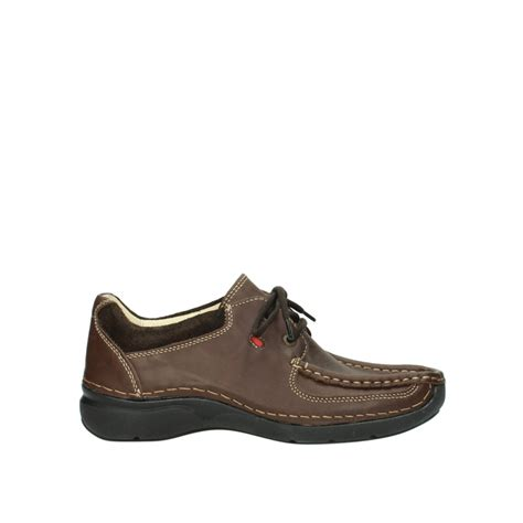 wolky shoes 7213 rolling shoe brown leather order now