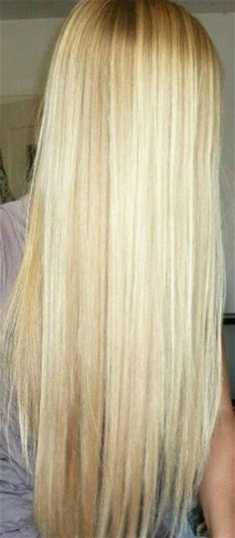Long straight light blonde hair hair that i wish i could have pinterest light blonde