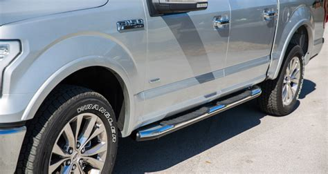 2016 Ford F150 Side Steps by Side Step Bar Carbest America Corp