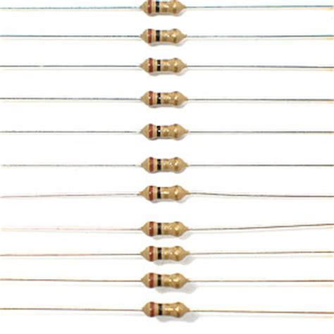 5k6 Ohm 1 Watt 1 electronic goldmine 1 ohm 1 4 watt resistor pkg of 100