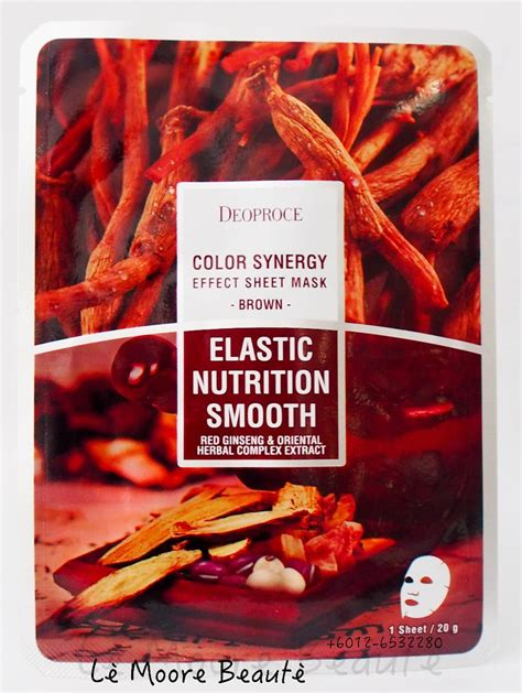 Deoproce Color Synergy Sheet Mask Green deoproce color synergy effect sheet end 8 21 2016 10 15 pm