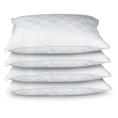 Royal Velvet Pillows by 4 Pk Royal Velvet 174 And Feather Fill High Loft