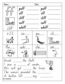 Ff Sound Consonant Digraph Quot Ff Quot Sound Skills