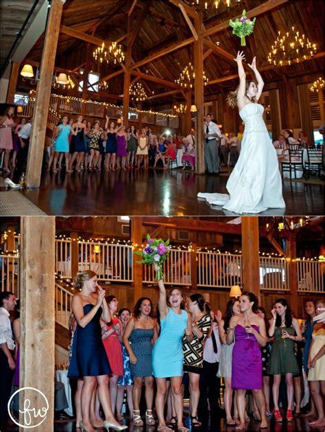 Wedding Bouquet Toss by Bouquet Toss At A Gibbet Hill Wedding Pictures