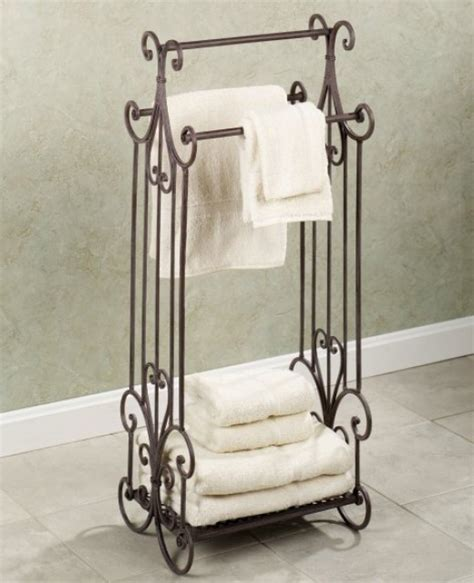 bath towel rack stand freestanding towel rack can help save space