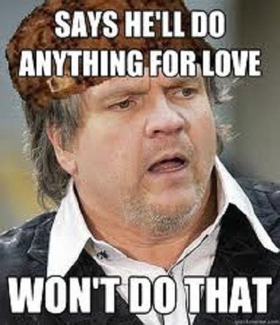 Meatloaf Meme - meatloaf meme funny celebrity meme