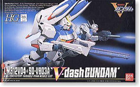 Hg V Dash Gundam v dash gundam hg 1 100 gundam model kits