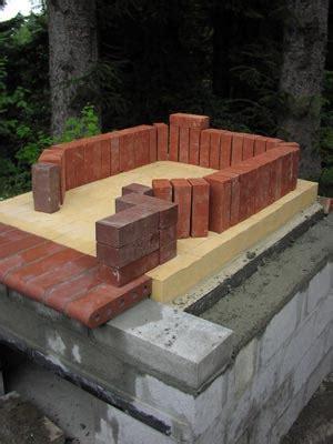 costruzione camino a legna costruire un forno a legna