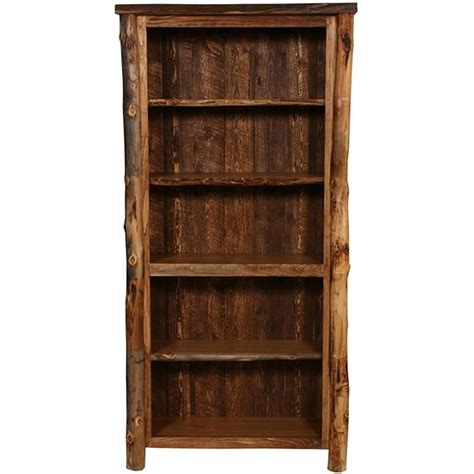 rustic bookcase rustic bookshelves designs doherty house