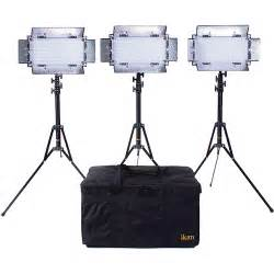 ikan led lights ikan ib508 v2 bi color led 3 light studio kit ib508 v2 kit b h