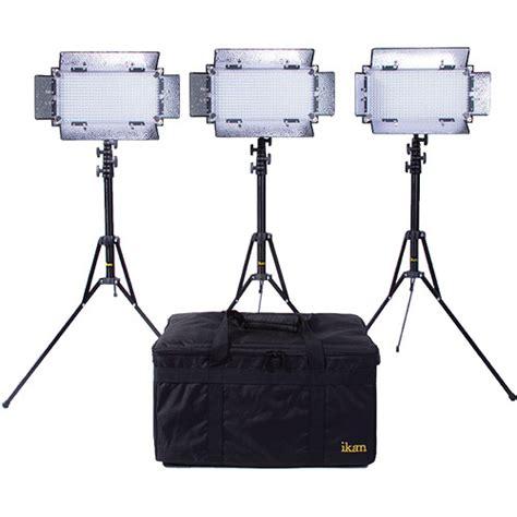 ikan ib508 v2 bi color led 3 light studio kit ib508 v2 kit b h