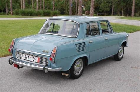 skoda car pics 1969 skoda 1000mb rear corner vintage car pics