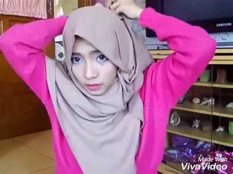Pashmina Italiano Hq tutorial pashmina denim ft hijabuptodate doovi