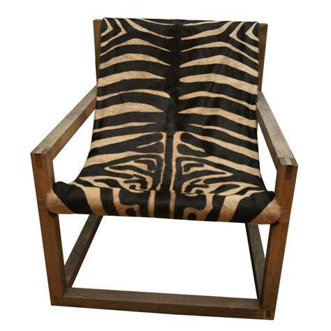 Zebra Chair by Zebra Chair At 1stdibs