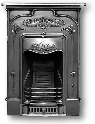 cast iron fireplace architecture and interior design