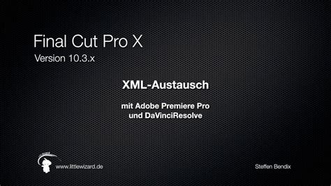 youtube tutorial final cut pro x vorschau tutorial final cut pro x xml austausch youtube