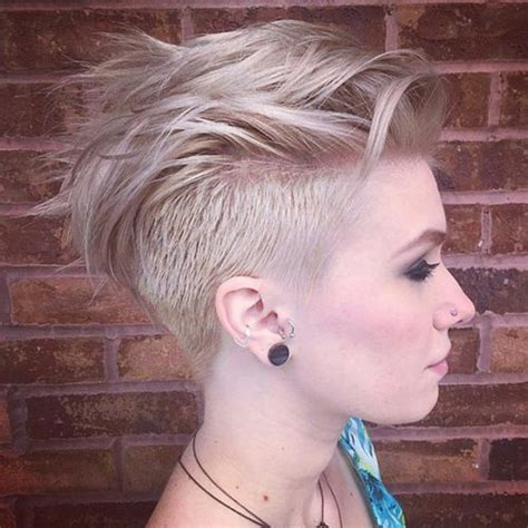 feminine mohawk 70 most gorgeous mohawk hairstyles of nowadays
