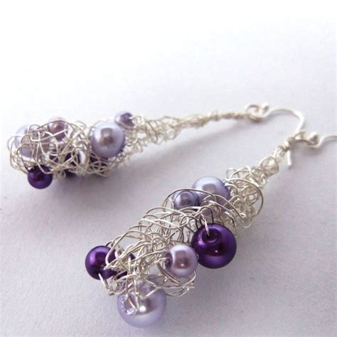 best wire for jewelry 39 best images about wire crochet on earring