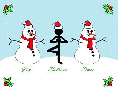 images of christmas yoga yoga holiday cards yoga wisdom for everyday