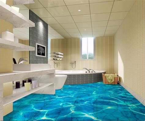 Bathroom Flooring Vinyl Ideas by Realistic 3d Floor Tiles Designs Prices Where To Buy