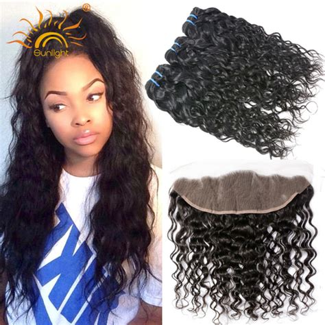ear to ear lace frontal closure with bundles peruvian