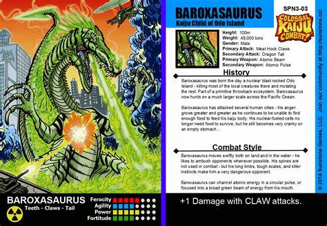 magic set editor card fighters clash template image baroxasaurus png kaijucombat wiki fandom