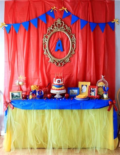 Snow White Decorations by 25 Best Ideas About Snow White Birthday On