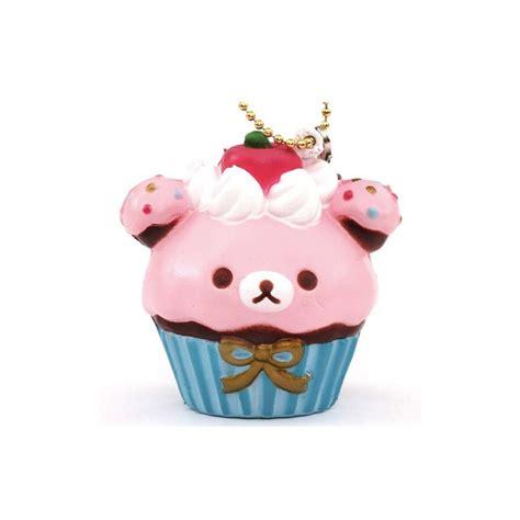 rilakkuma cupcake squishy kawaii panda cuter