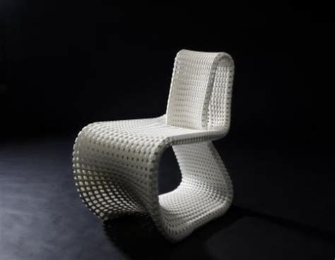 3d Printed Chair by 3d Printed Cellular Loop Chair Mimics Complex Tissue