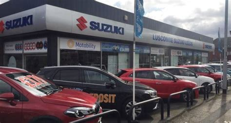 Suzuki Dealer Leeds Luscombe Suzuki Leeds Launches To Scrap Scheme