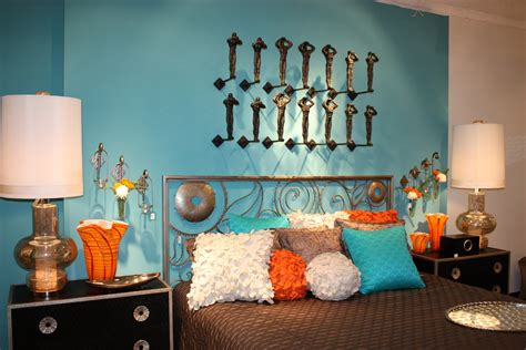 orange and blue decor classic with a twist dallas summer market 5 days of