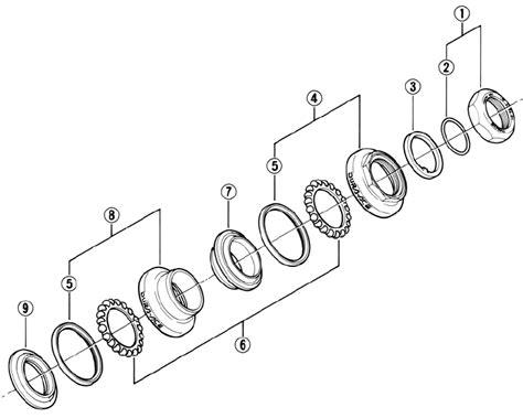 bmx headset diagram bike headset threaded diagram bike free engine image for