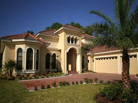 Mediterranean Home Style House Plans Mediterranean Style Homes Modern House 5 Bedroom 1 Story Mediterranean Home