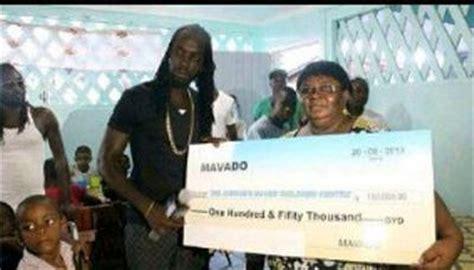 mavado house in jamaica mavado made donation of 150 000 gyd to joshua s house