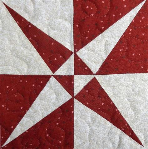 Seven Quilt Block Pattern by Crossed Canoes Paper Pieced Quilt Block Craftsy