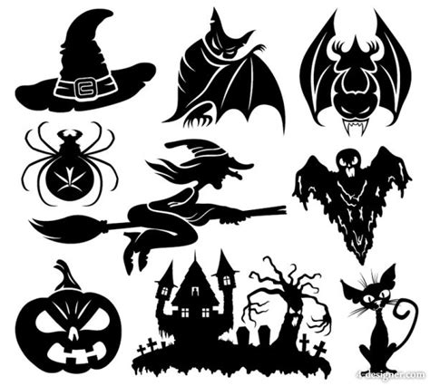 pattern silhouette vector ghost silhouette pattern images