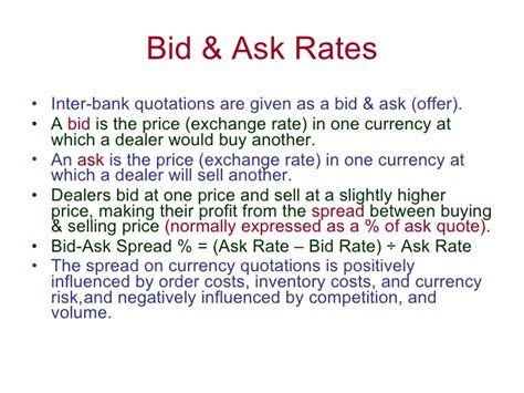 bid and offer bid ask exchange rates forex app for ios