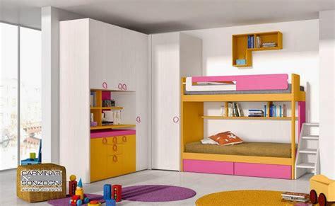 Bella Letto A Soppalco Con Scrivania #1: cameretta-con-letto-a-castello.jpg