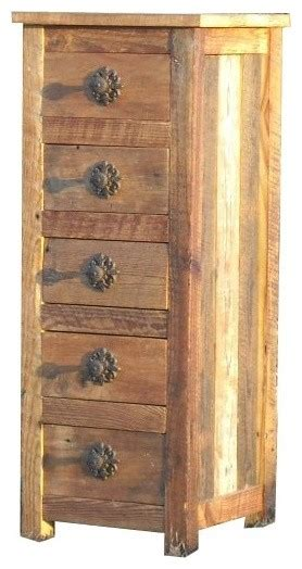 Small Dressers And Chests Corner Black Stained Wooden Dresser Drawer Chests For