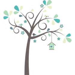 Nursery Tree Wall Stickers pretty tree wall sticker littleprints