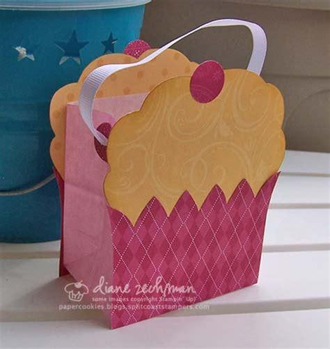 mini cupcake bag and cards