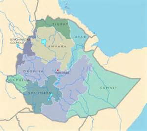 Ethiopia Map In World by Ethiopia Maps