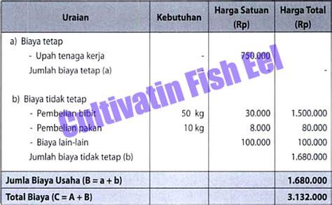 Usaha Pembesaran Belut analisis kelayakan usaha ikan belut cultivation fish eels
